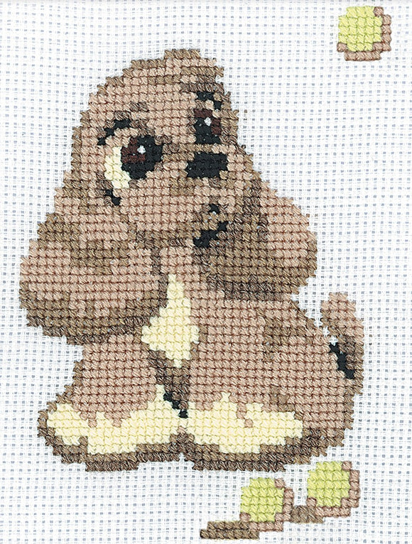 Cross Stitch Kit Cocker Spaniel, Counted Cross Stitch Riolis R321