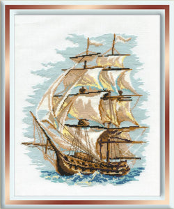 Cross Stitch Kit The Galleon Counted Cross Stitch Kit R479