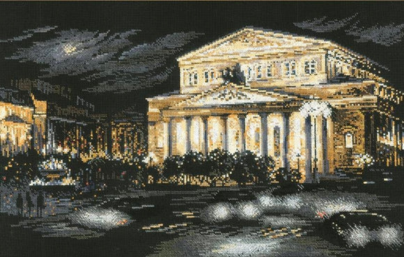 Bolshoi Theatre, Moscow Cross Stitch Kit Riolis R1638