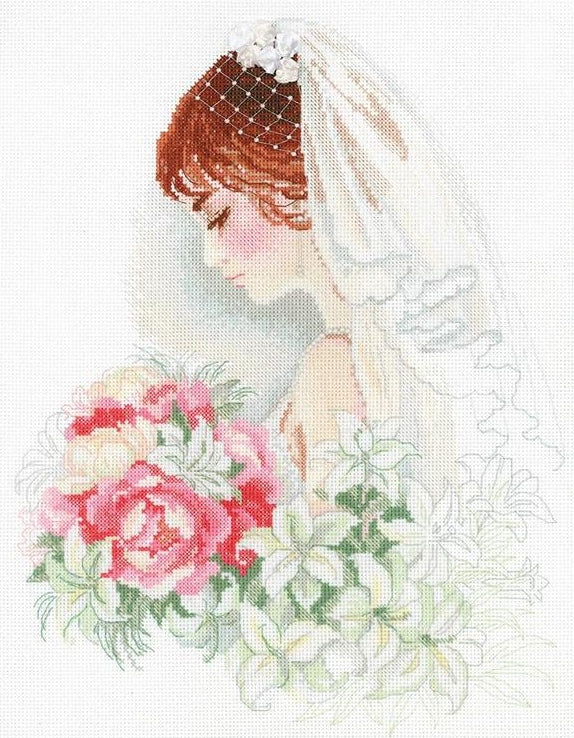 Cross Stitch Kit Bride, Riolis Counted Cross Stitch R100/050
