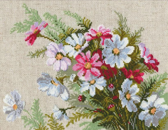 Cross Stitch Kit Cosmos, Counted Cross Stitch Riolis R583