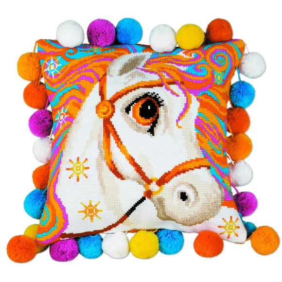 Cross Stitch Kit Horse, Counted Cross Stitch Kit Riolis R1380