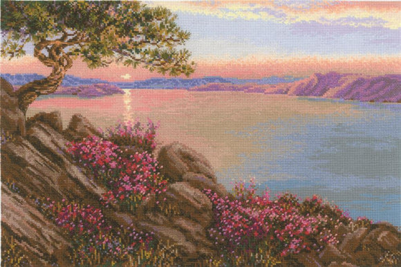 Lake Baikal Cross Stitch Kit Riolis R1706