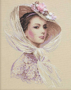 Lilac Evening Cross Stitch Kit, Riolis R100.028