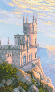 Swallows Nest Castle, Counted Cross Stitch Kit Riolis R1645