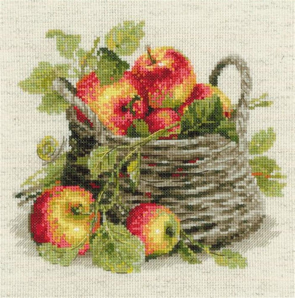 Ripe Apples Cross Stitch Kit, Riolis R1450