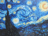 Van Gogh Starry Night Cross Stitch Kit, Riolis R1088
