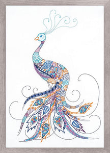 Bird of Luck, Peacock Embroidery Kit, Riolis R1587