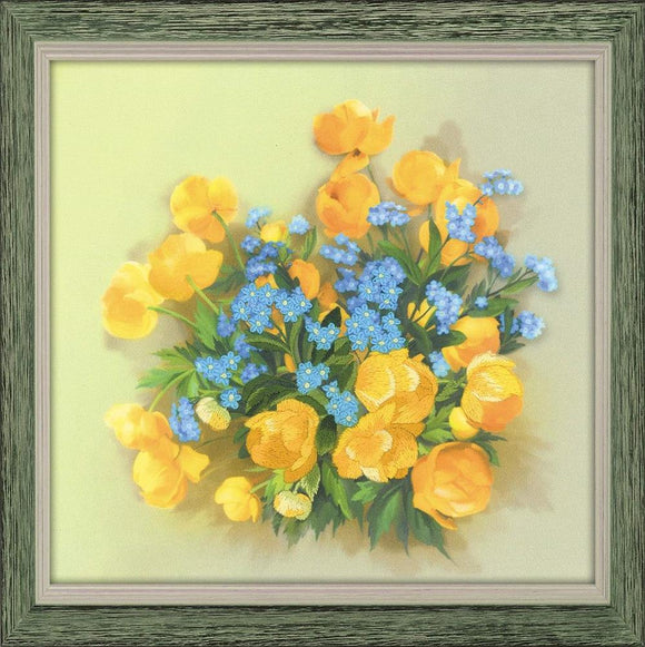 Embroidery Kit Buttercups Embroidery RPT-0058