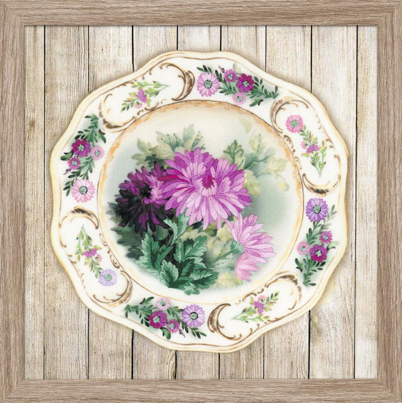 Embroidery Kit Chrysanthemum Plate Embroidery RPT-0076