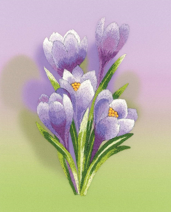 Embroidery Kit Crocus Embroidery RPT-0065