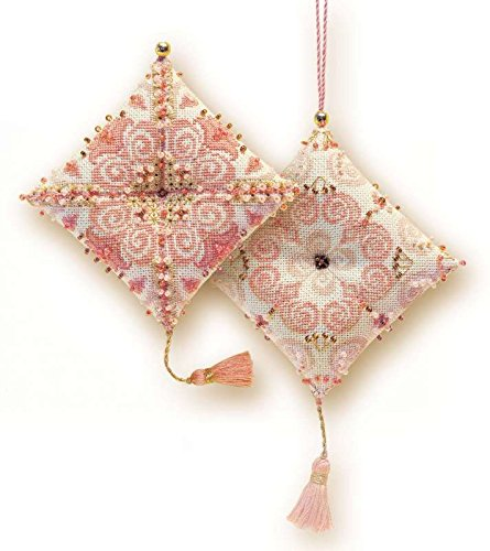 Cross Stitch Kit Delight Pincushion, Riolis Counted Cross Stitch R1228