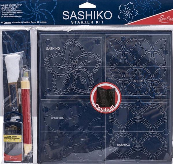 Sashiko Embroidery Kit - Starter Set ERS.001