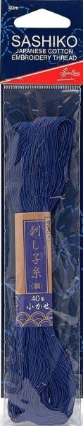 Sashiko Embroidery Thread - Cotton - Navy Blue ERS.012