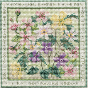 Spring Cross Stitch Kit, Derwentwater Designs FS01