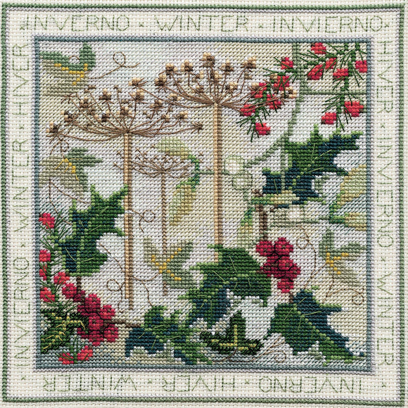 Winter Cross Stitch Kit, Derwentwater Designs FS04