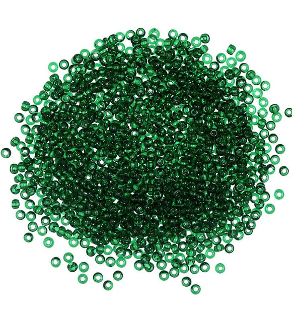 Seed Beads, Mill Hill Beads, Economy Pack Bulk-Buy, 2.5mm 22020 Creme de Mint