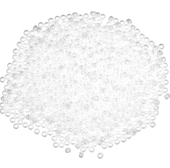 Seed Beads, Mill Hill Beads, Economy Pack Bulk-Buy, 2.5mm 20479 White