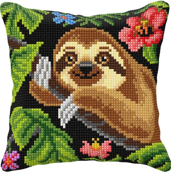 Sloth CROSS Stitch Tapestry Kit, Orchidea ORC99019