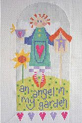 Cross Stitch Kit Garden Angel, Counted Cross Stitch, Stitching Shed