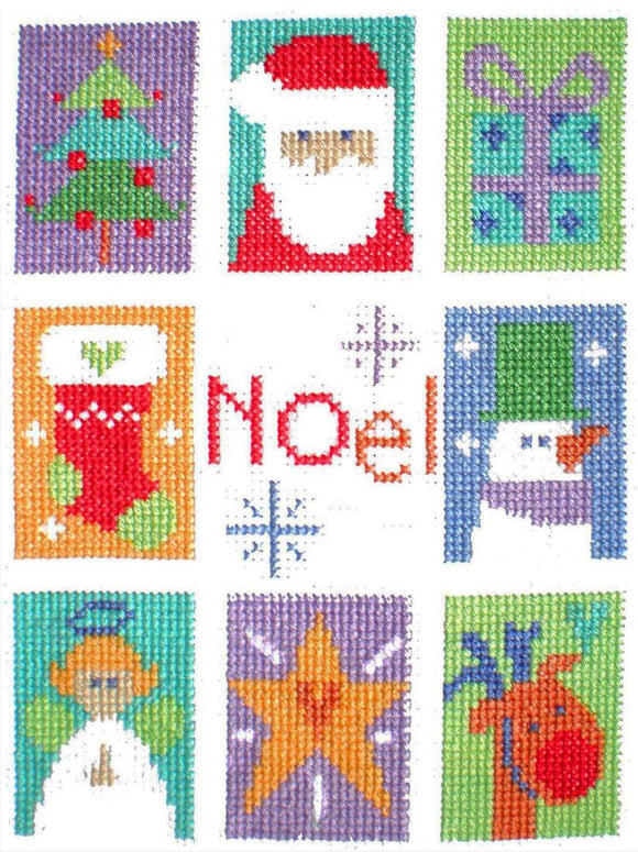 Cross Stitch Kit Noel, Counted Cross Stitch, Stitching Shed
