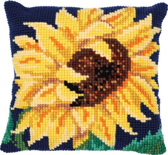 Sunflower Bloom CROSS Stitch Tapestry Kit, Needleart World LH9-026