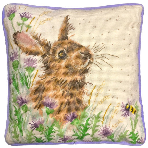 The Meadow Rabbit Tapestry Kit, Needlepoint Kit Bothy Threads THD30