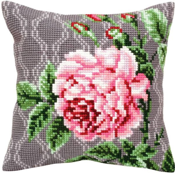 Tender Rose II CROSS Stitch Tapestry Kit, Collection D'Art CD5342