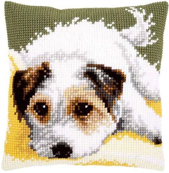 Terrier with Wagging Tail CROSS Stitch Tapestry Kit, Vervaco PN-0156600