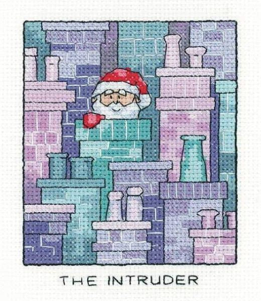The Intruder Cross Stitch Kit, Heritage Crafts -Peter Underhill
