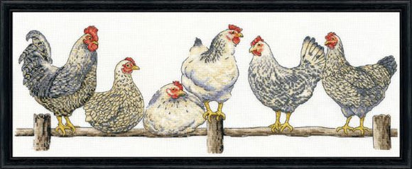 The Roost Cross Stitch Kit, Design Works 3403