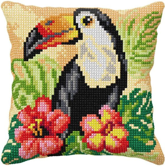 Toucan CROSS Stitch Tapestry Kit, Orchidea ORC9572