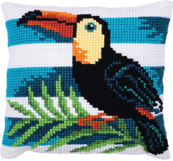 Toucan Journey CROSS Stitch Tapestry Kit, Needleart World LH9-022