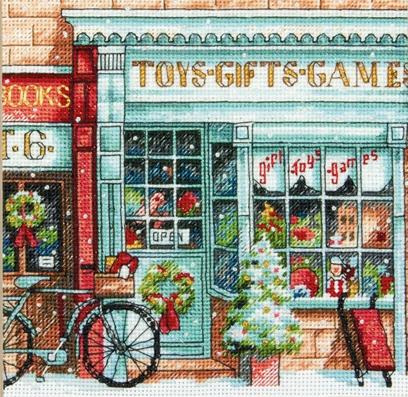 Toy Shoppe Cross Stitch Kit, Dimensions D70-08900