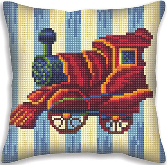Train Nostalgia CROSS Stitch Tapestry Kit, Collection D'Art CD5402