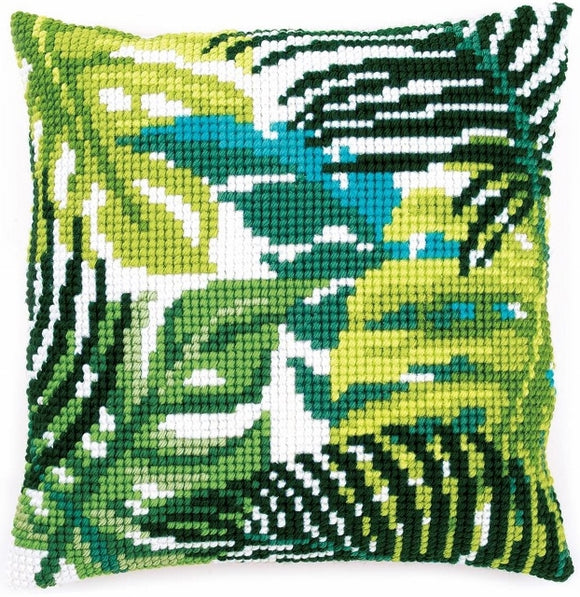 Tropical Leaves CROSS Stitch Tapestry Kit, Vervaco PN-0166284