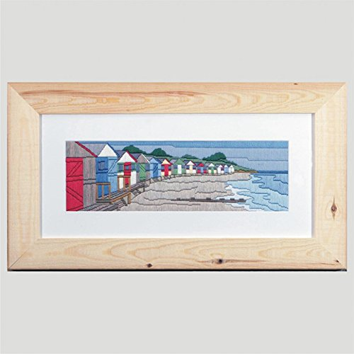 Long Stitch Kit Beach Huts, Twilleys Long Stitch 2861/0001