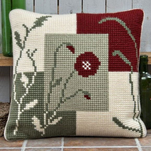 Poppy Large Hole CROSS Stitch Tapestry Kit, Twilleys