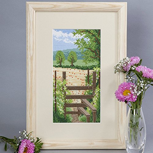 Cross Stitch Kit Summer Walk, Counted Cross Stitch Twilleys 2890/0017