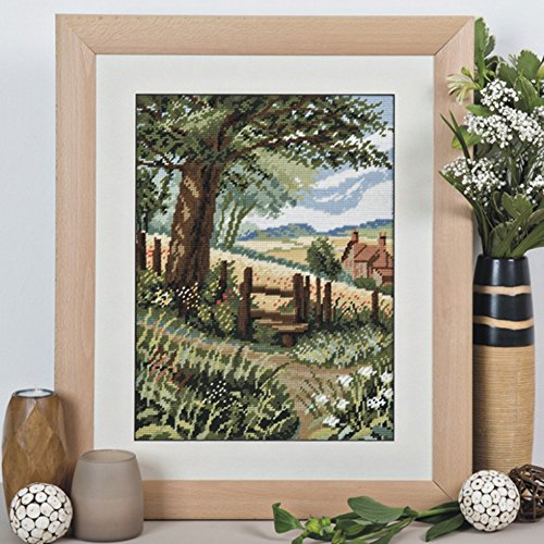 Tapestry Kit Needlepoint Kit, Country Stile Landscape Tapestry 1564