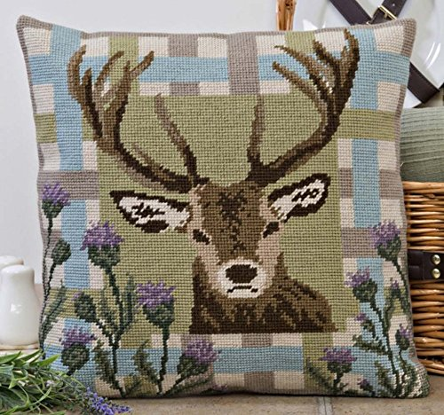 Tapestry Kit Needlepoint Kit, Highland Stag Tapestry 0024
