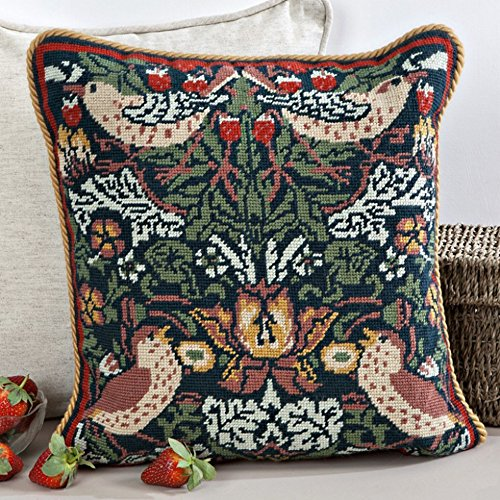 Tapestry Kit Needlepoint Kit, William Morris Strawberry Thief 1244
