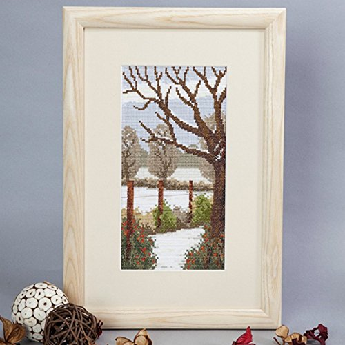 Cross Stitch Kit Winter Walk, Counted Cross Stitch Twilleys 2890/0019