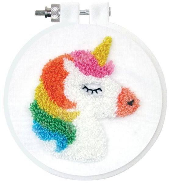 Punch Needle Kit, Unicorn Punch Needle Embroidery Starter Kit 236