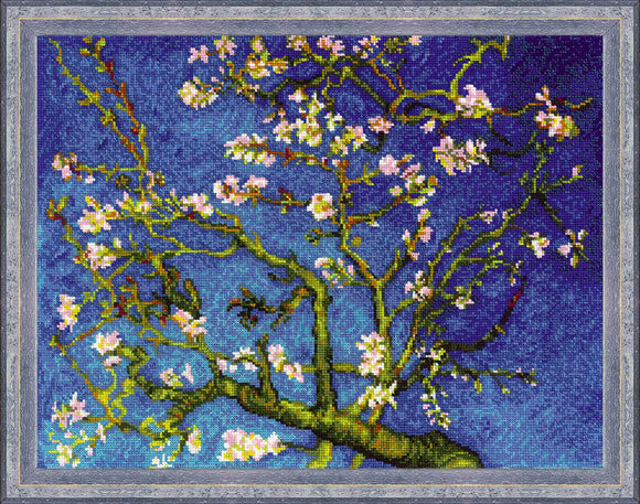 Van Gogh Almond Blossom Cross Stitch Kit Riolis R1698