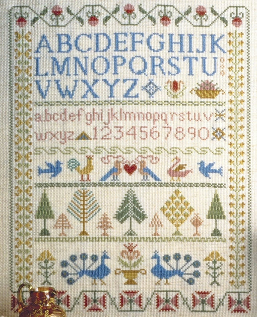 Victorian Sampler Cross Stitch Kit, Anchor CC78962