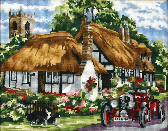 Village of Welford Tapestry Kit Needlepoint, Anchor KT129K
