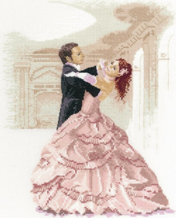 Waltz Cross Stitch Kit by John Clayton, Heritage Crafts