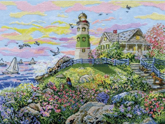 Watching the Sunset Cross Stitch Kit, Design Works 3402