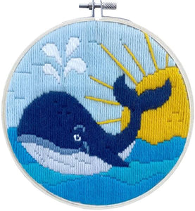 Whale Song Long Stitch Kit, Needleart World LST3-003